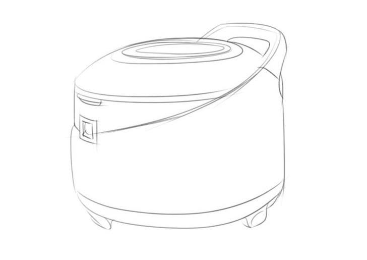 简笔画—家用电器